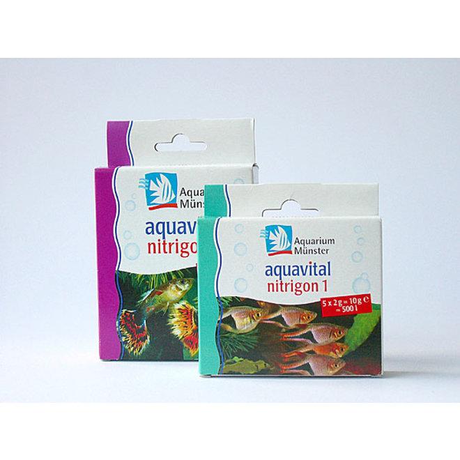 Aquarium Munster Aquavital Nitrigon 1, filterbacteriën 5x2 gram