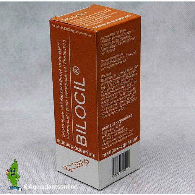 Manaus Bilocil 100 ml, tegen huid-en kieuwwormen/lintwormen (Cestoden)