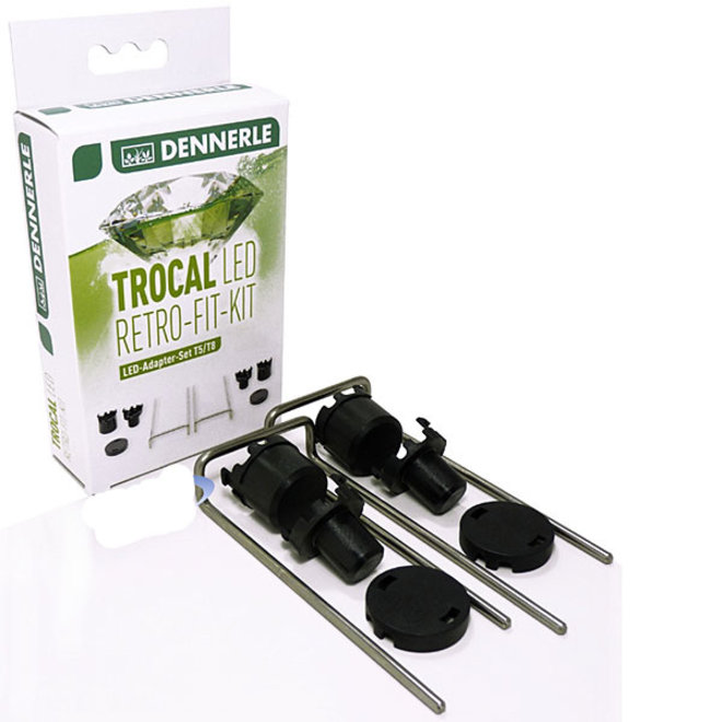 Dennerle Trocal LED Retro Fit Kit, adapterset T5-T8