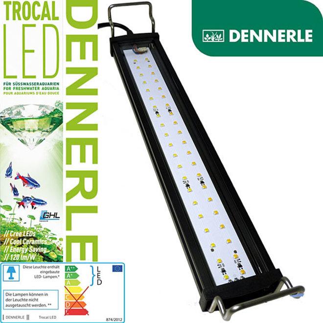 Dennerle Trocal LED 160 / 90 watt voor aquaria 158-175 cm