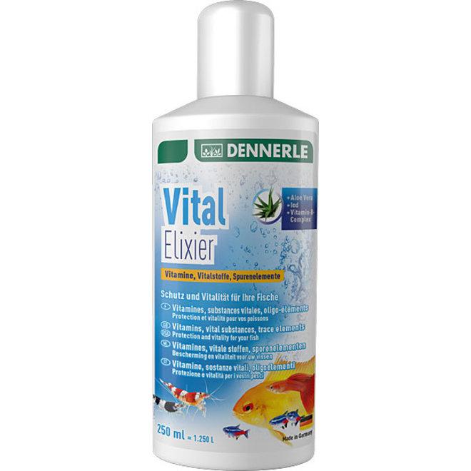 Dennerle Vital Elixier 250 ml, vloeibare vitaminen en sporenelementen