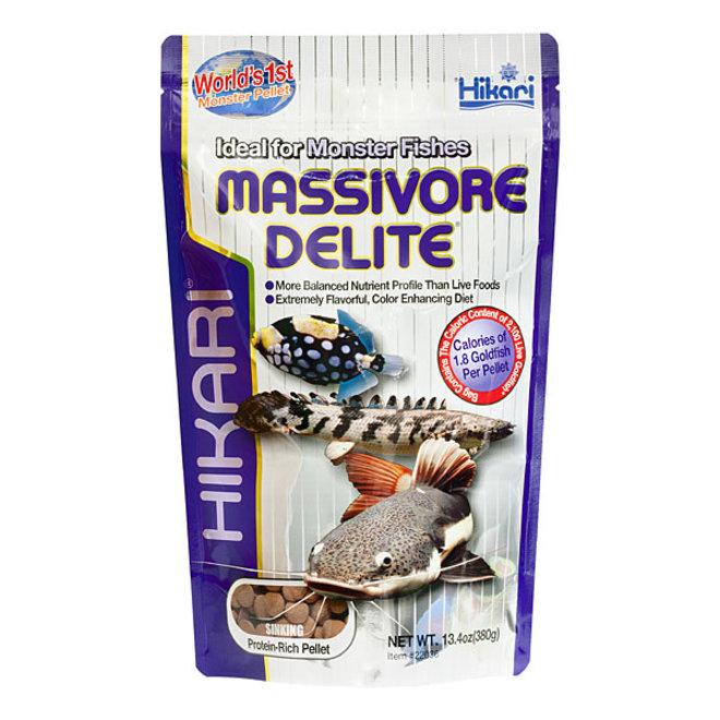 Hikari Tropical Massivore Delite 380 gram, zinkende pellets