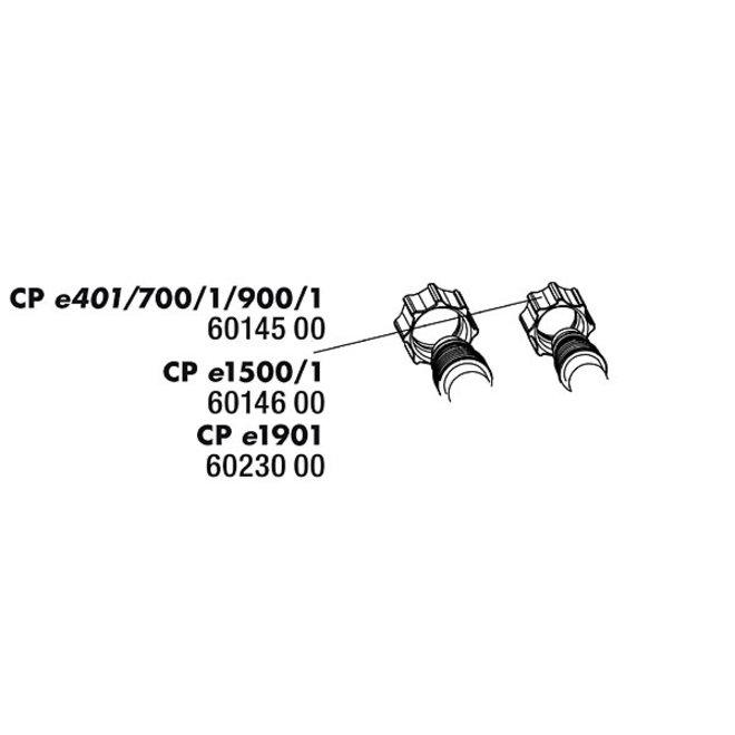 JBL schroefmoer slangaansluiting voor e401/e701/e901