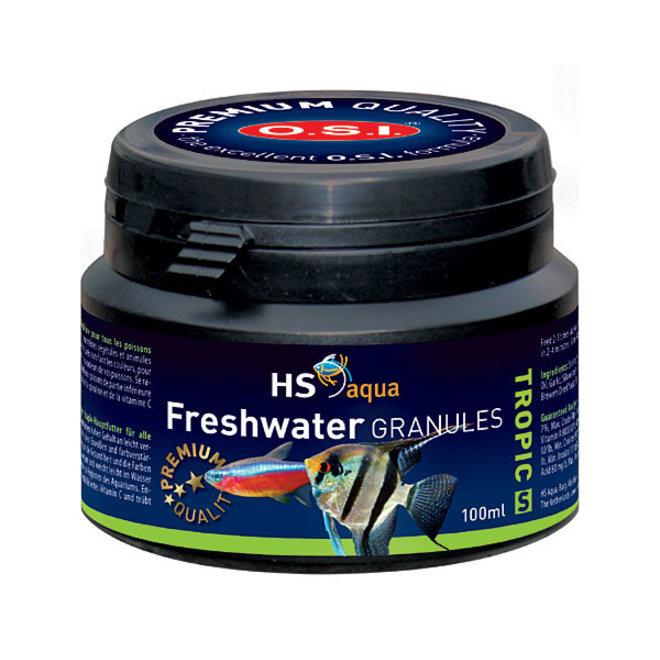 HS Aqua / O.S.I. Freshwater granules S 100 ml/50 g, granulaatvoer