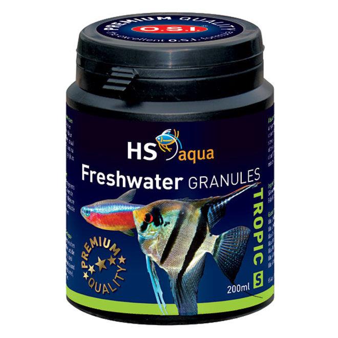 HS Aqua / O.S.I. Freshwater granules S 200 ml/100 g, granulaatvoer