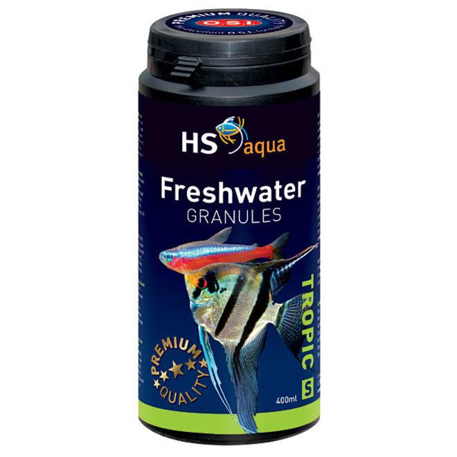 HS Aqua / O.S.I. Freshwater granules S 400 ml/190 g, granulaatvoer