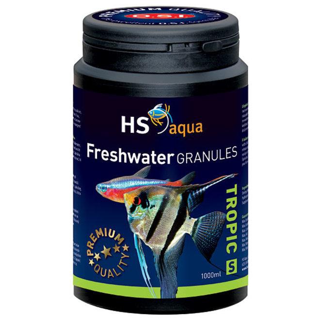 HS Aqua / O.S.I. Freshwater granules S 1000 ml/475 g, granulaatvoer