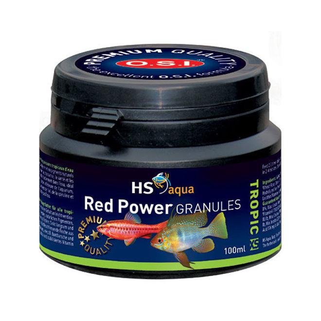 HS Aqua / O.S.I. Red Power granules XS 100 ml/50 g, granulaatvoer