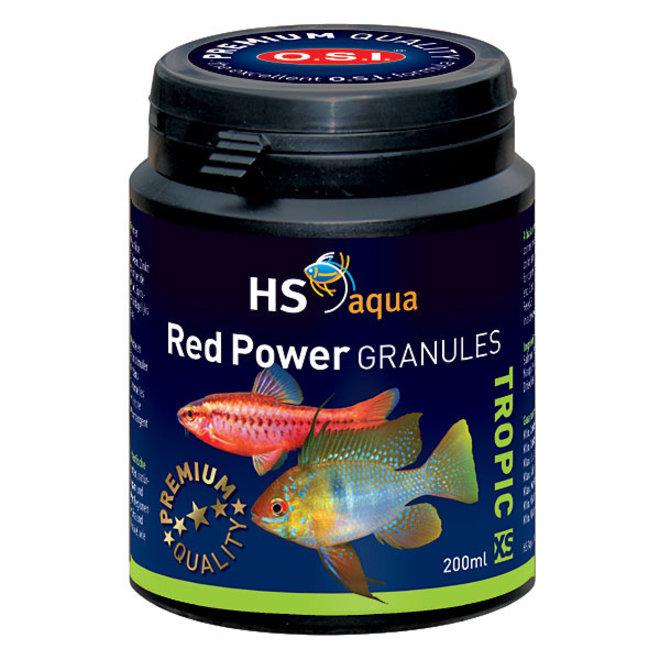 HS Aqua / O.S.I. Red Power granules XS 200 ml/100 g, granulaatvoer