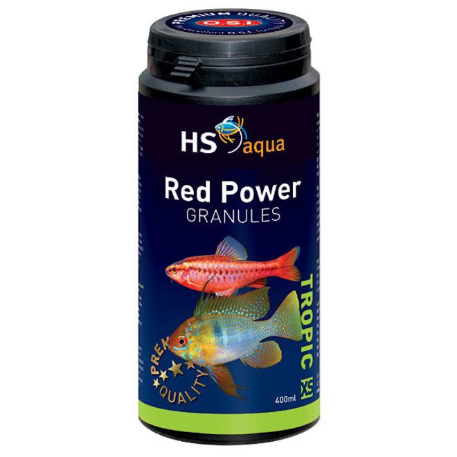 HS Aqua / O.S.I. Red Power granules XS 400 ml/190 g, granulaatvoer