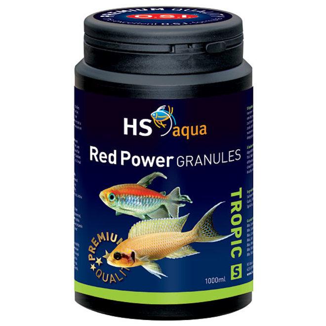 HS Aqua / O.S.I. Red Power granules XS 1000 ml/475 g, granulaatvoer