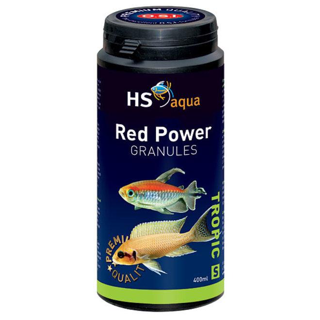 HS Aqua / O.S.I. Red Power granules S 400 ml/190 g, granulaatvoer