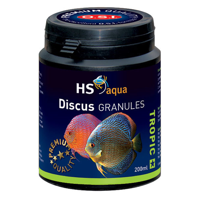 HS Aqua / O.S.I. Discus granules 200 ml/100 g, discus granulaatvoer