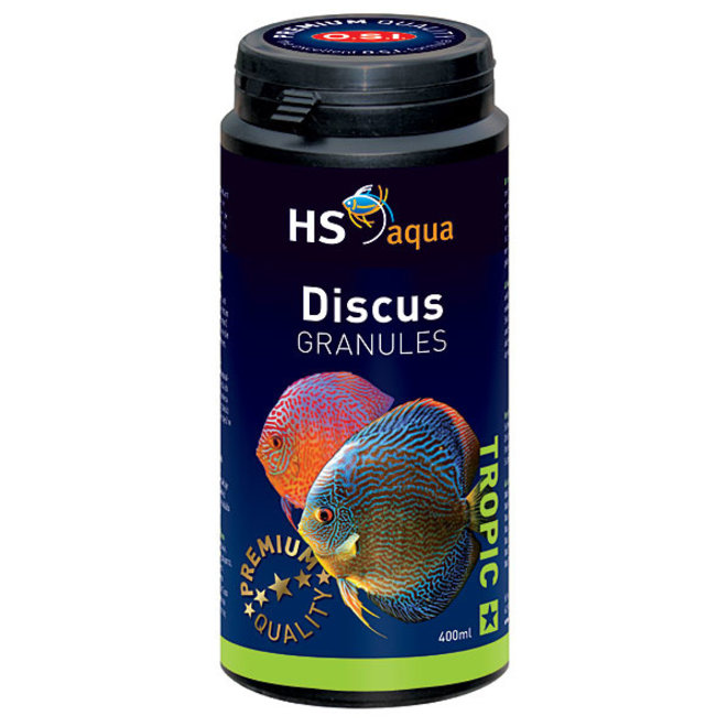 HS Aqua / O.S.I. Discus granules 400 ml/190 g, discus granulaatvoer