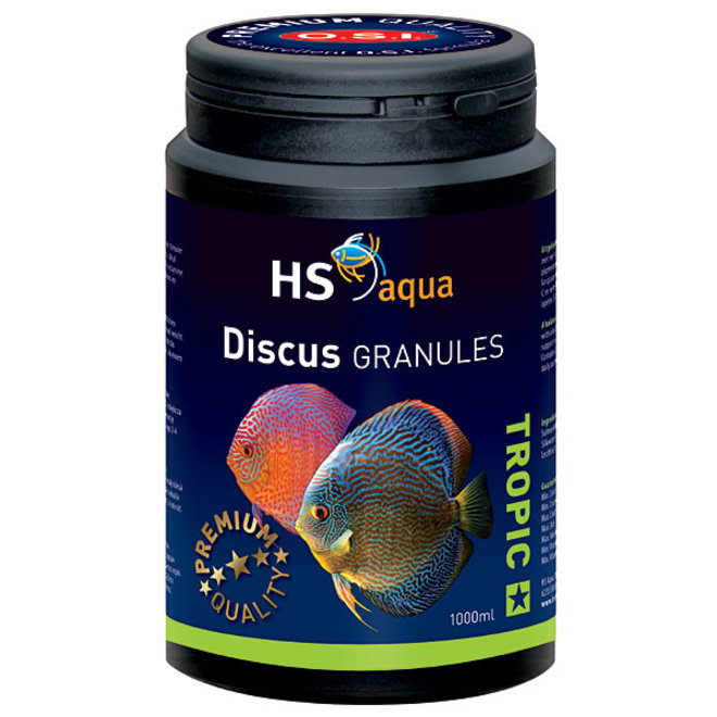 HS Aqua / O.S.I. Discus granules 1000 ml/475 g, discus granulaatvoer