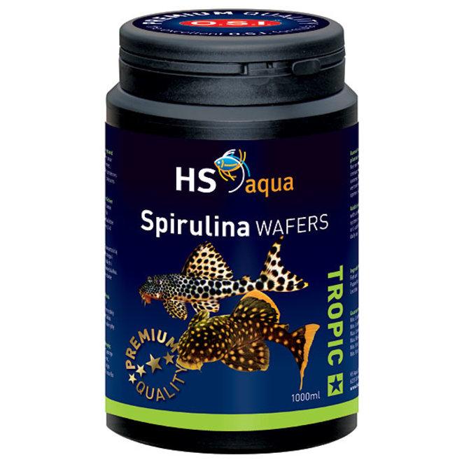 HS Aqua / O.S.I. Spirulina wafers 1000 ml, spirulina wafers