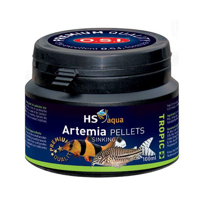 HS Aqua / O.S.I. Artemia pellets 100 ml/50 g, artemia pellets