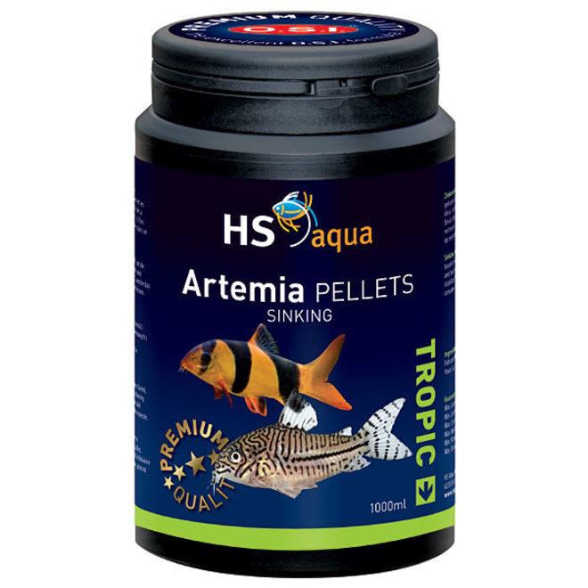 HS Aqua / O.S.I. Artemia pellets 1000 ml/525 g, artemia pellets