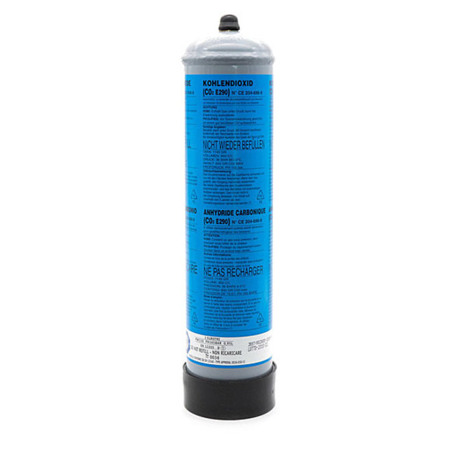 Aqua-Noa CO2 wegwerpfles 600 gram, gevuld