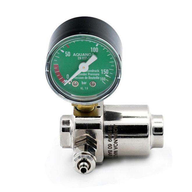 Aqua-Noa CO2 drukregelaar Basic 1 meter voor wegwerpflessen