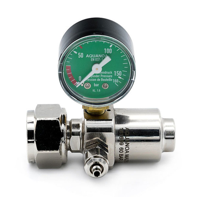 Aqua-Noa CO2 drukregelaar Basic met 1 meter, hervulbare flessen