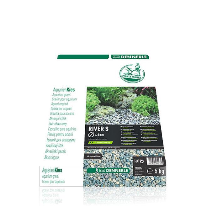 Dennerle Plantahunter natuurgrind River L 8-12 mm, 5 kg