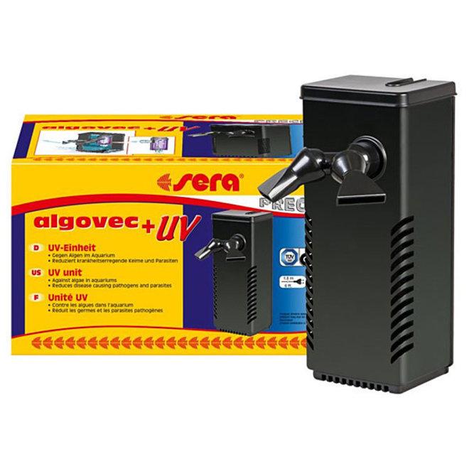 Sera Algovec UV filter, UV-C-systeem voor aquariums tot 100 liter