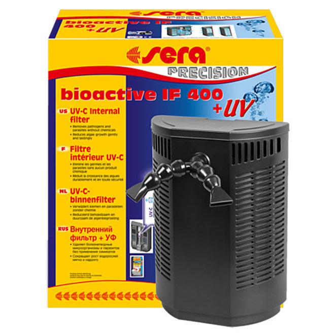 Sera Bioactive IF 400 + UV filter, UV-C-systeem voor aquariums tot 400 liter