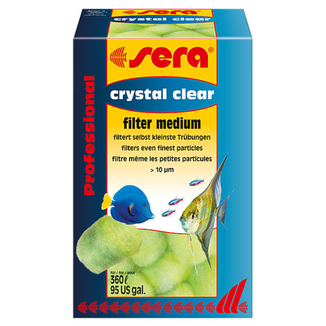 Sera Crystal Clear Professional, mechanische filtering