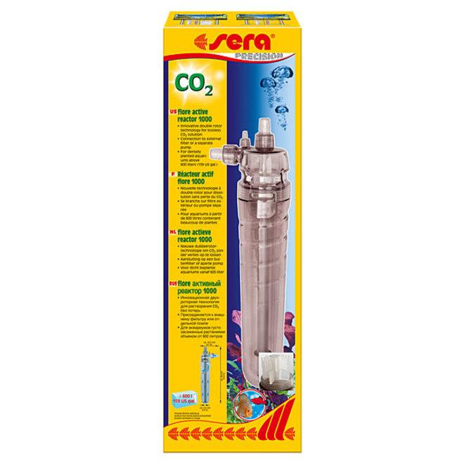 Sera Flore actieve CO2 Reactor 1000, vanaf 600 liter