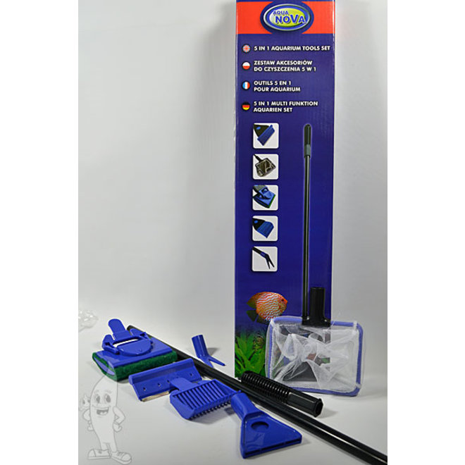 Aqua Nova 5 in 1 tools set, schoonmaakset