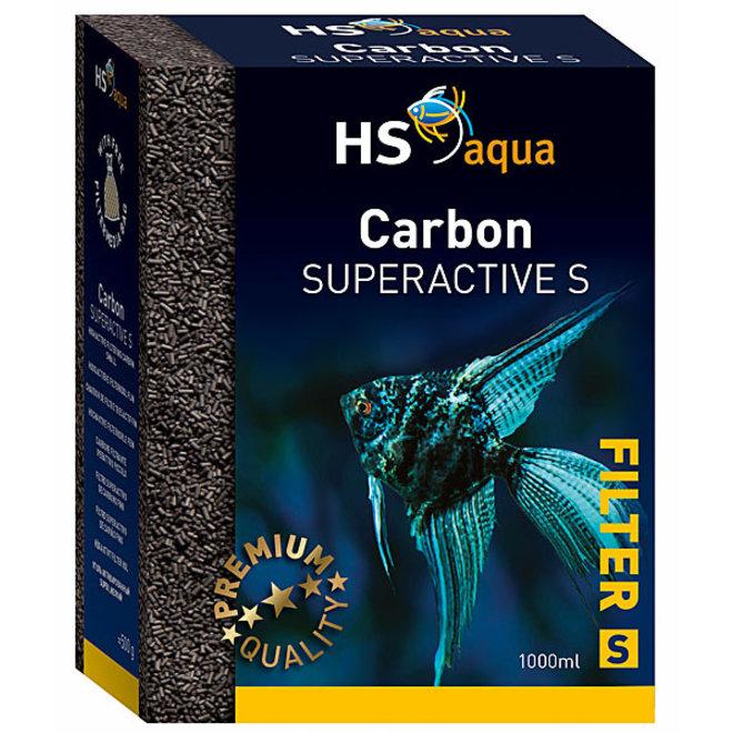 HS Aqua Carbon Super Active S 2000 ml/1000 gram, extra actief kool