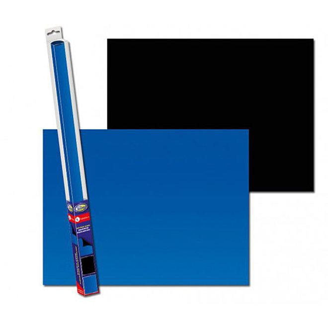 Aqua Nova achterwand poster L 100x50 cm zwart / blauw