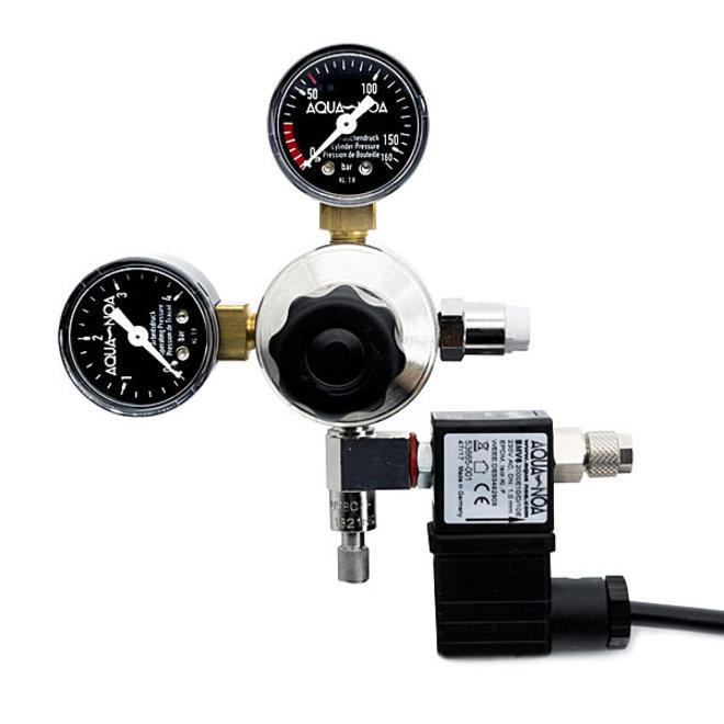 Aqua-Noa CO2 drukregelaar met 2 meters, incl. magneetventiel