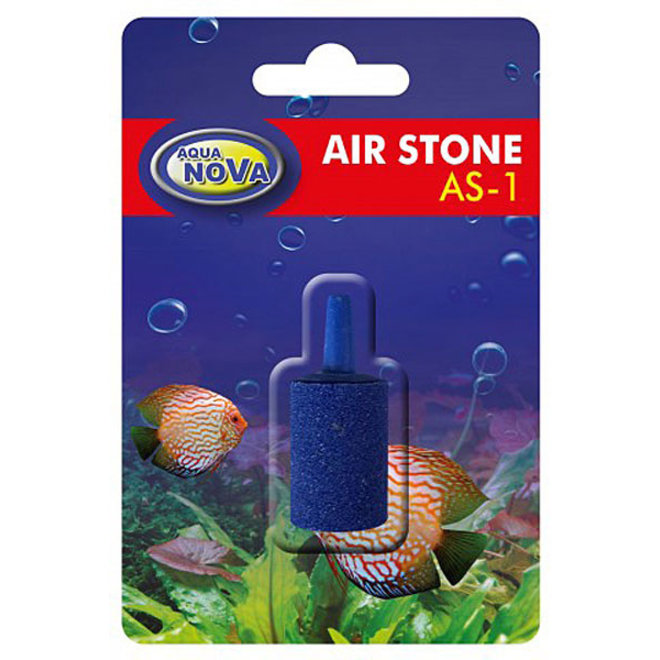 Aqua Nova luchtsteen cilinder blauw 25 mm