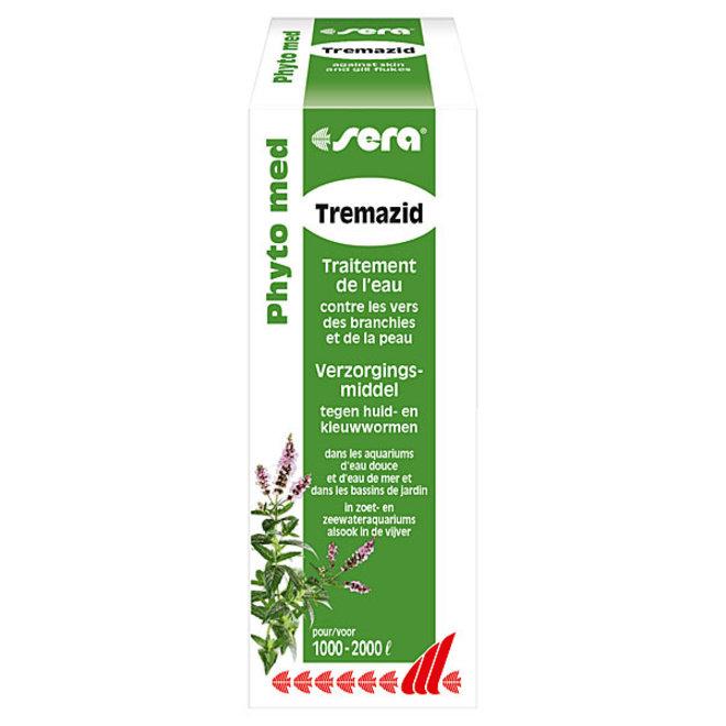 Sera Phyto med Tremazid 100 ml, tegen kieuw- huidwormen