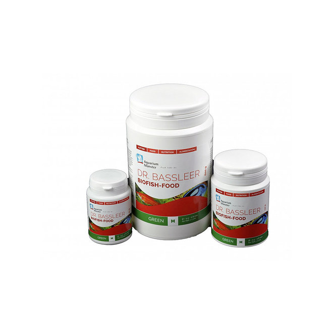 Dr. Bassleer Biofish Food green, L 60 gram granulaatvoer