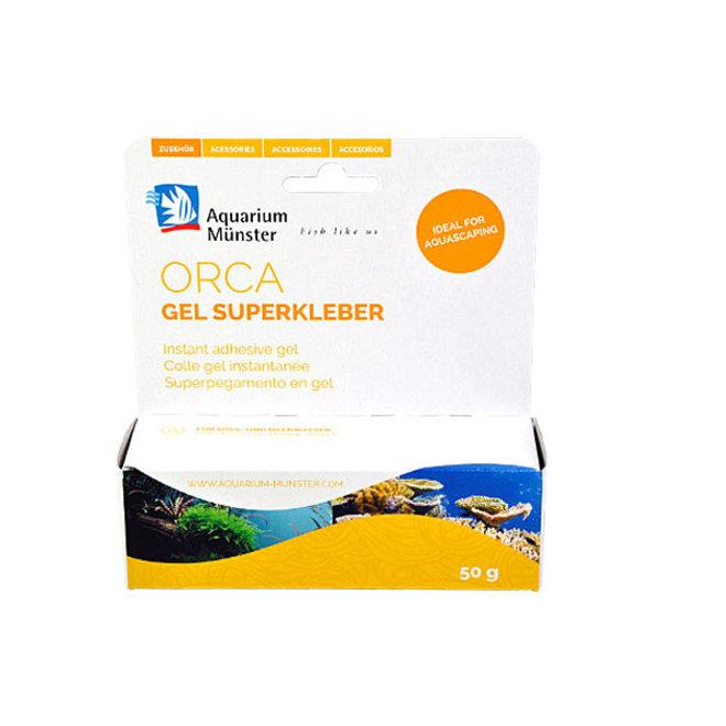 Aquarium Munster Orca Gel Superglue, 50 gram