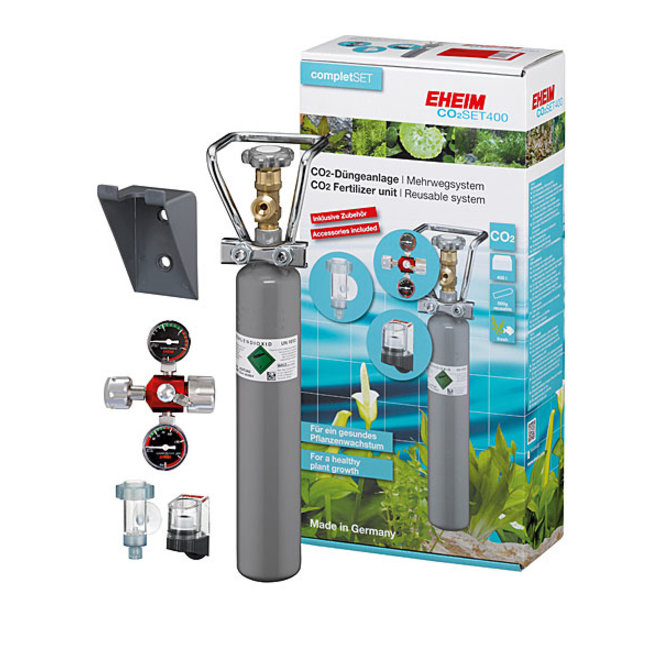 Eheim CO2 Set 400 systeem met hervulbare fles tot 400 liter