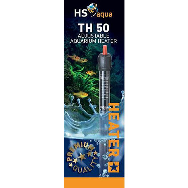 HS Aqua TH 50 Aquarium verwarming 50 watt tot 100 liter