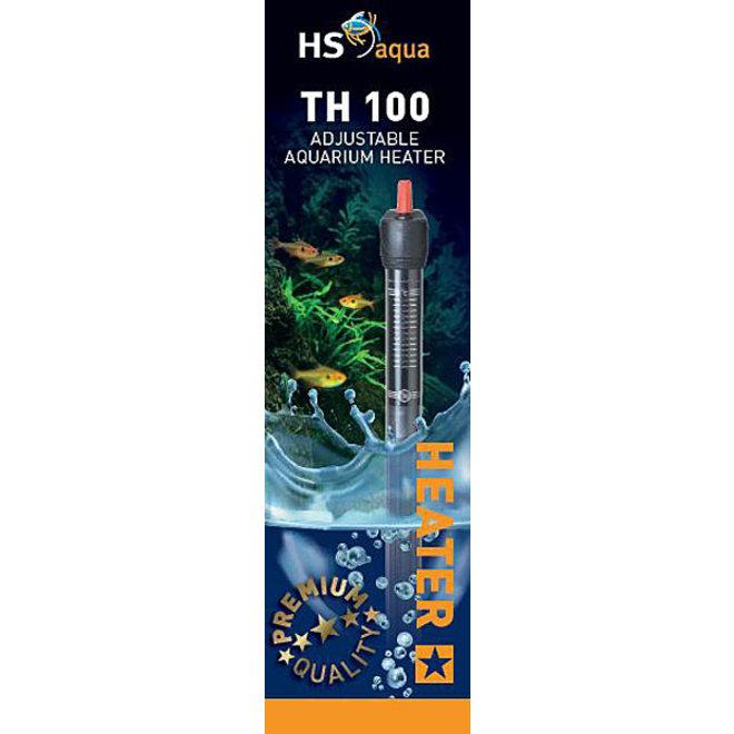HS Aqua TH 100 Aquarium verwarming 100 watt tot 200 liter