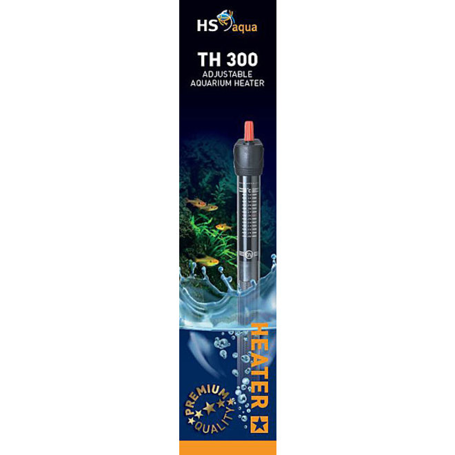 HS Aqua TH 300 Aquarium verwarming 300 watt tot 500 liter