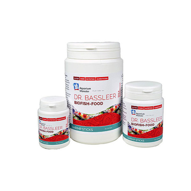 Dr. Bassleer Biofish Food shrimp sticks, 150 gram