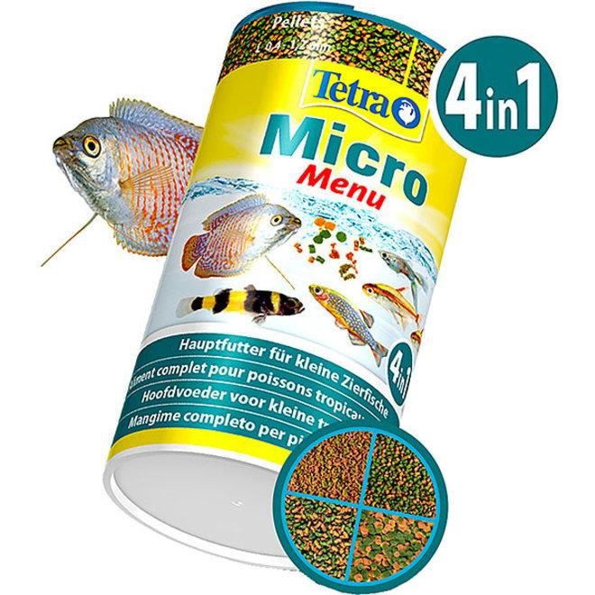 Tetra Micro Menu 4in1 100 ml, hoofdvoer 4 soorten