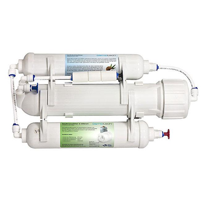 Osmotech Hobby Osmose 50GPD 190 liter per dag, waterfilter
