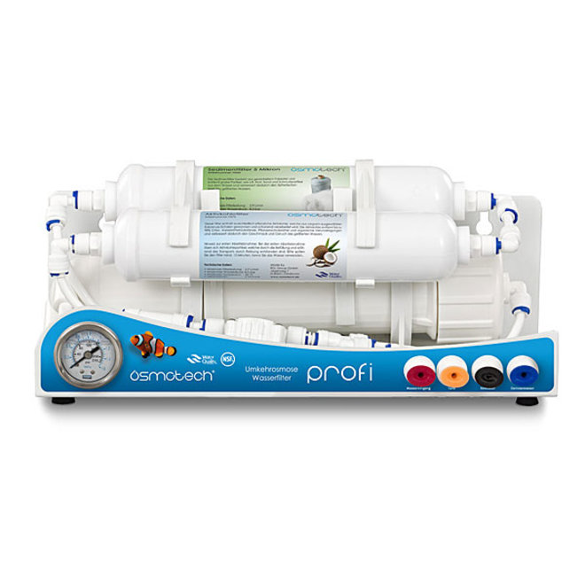 Osmotech Profi Osmose 50GPD 190 liter per dag, waterfilter
