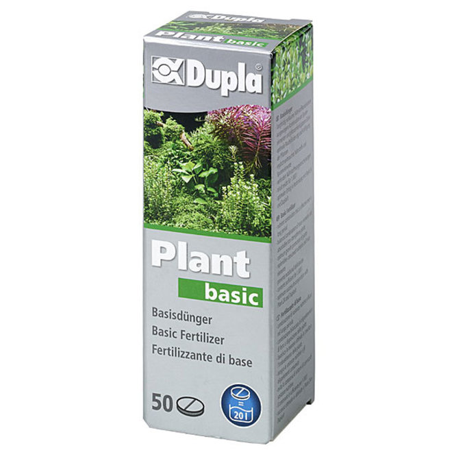 Dupla Plant basic 50 tabletten, ijzer met sporenelementen