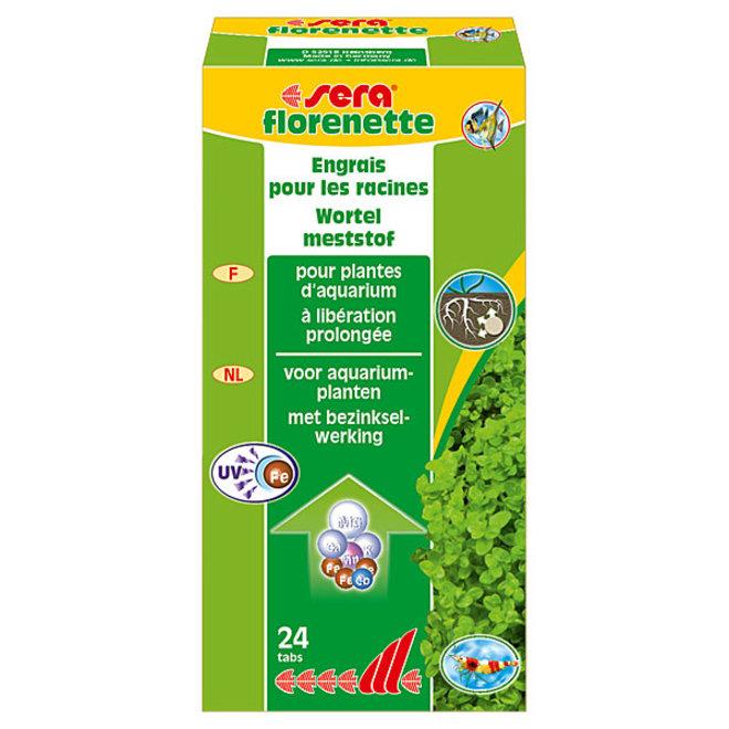 Sera Florenette 24 tabletten, wortelbemesting