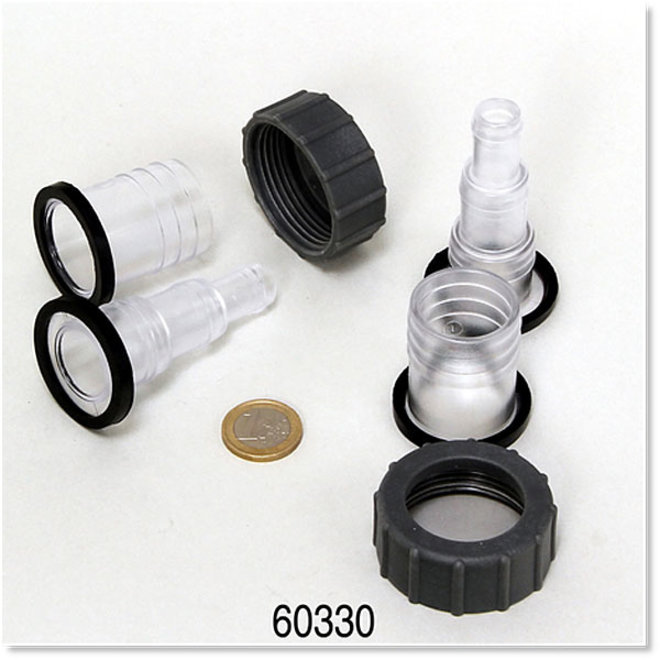 JBL ond. 6033000 slangaansluiting voor JBL AquaCristal UV-C