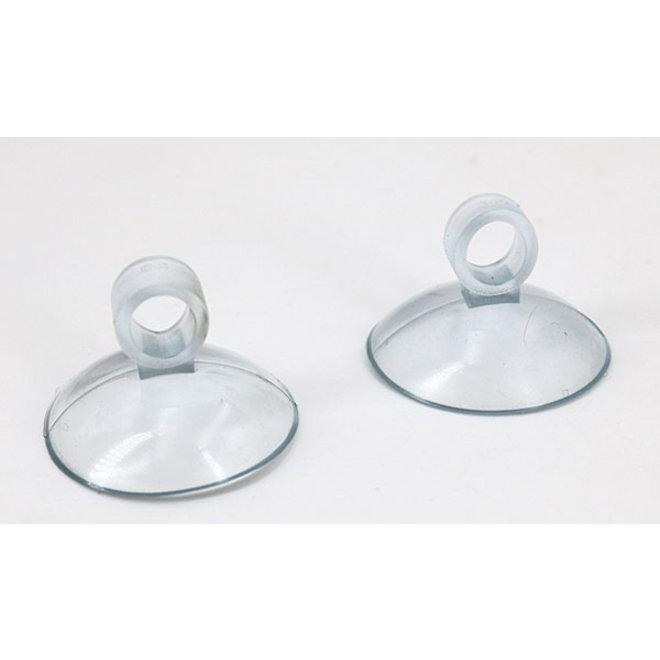 Aqua-Noa transparante zuignappen voor slang 4/6 mm